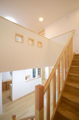 階段 富山市の高性能住宅 タケダ建創