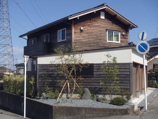 外観 富山市の高性能住宅 タケダ建創